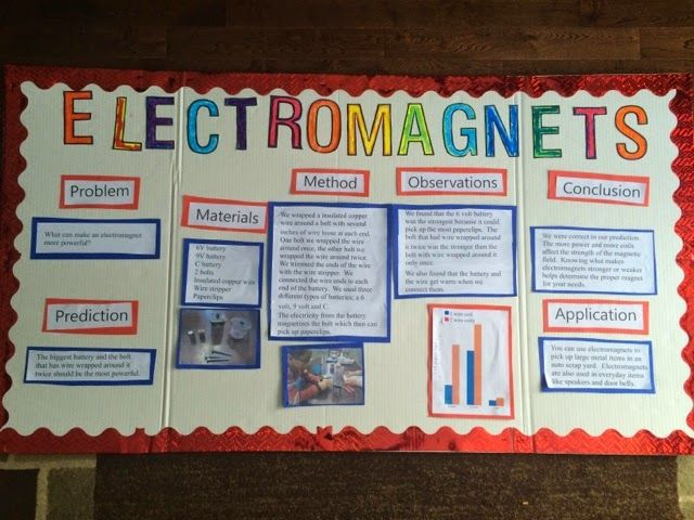 Science Fair Electromagnet Google Search School