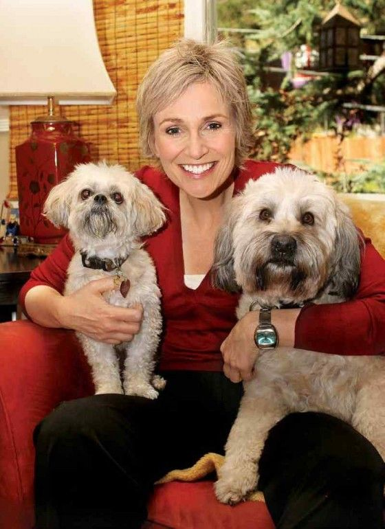 It will be a GLEEful morning - Jane Lynch confirmed to introduce Bravo our K9s For Warriors Service Dog!      Every 65 minutes a veteran commits sui