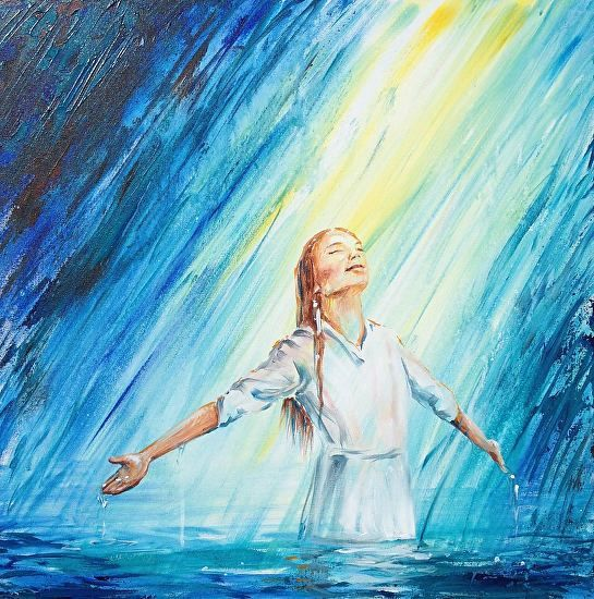 """Washed Away by Melani Pyke - Hebrews 10:22 sums it up: """"let us draw near to God with a sincere heart and with the full assurance that faith brings,having our hearts sprinkled to cleanse us from a guilty conscience and having our bodies washed with pure water."""""""
