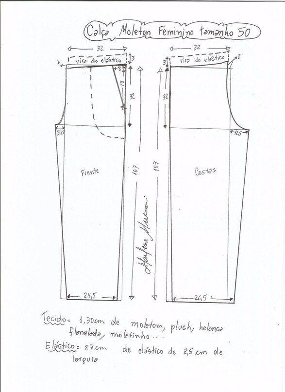 Moldes-para-hacer-pants-deportivos-para-dama-10.jpg (587×807) | edu ...
