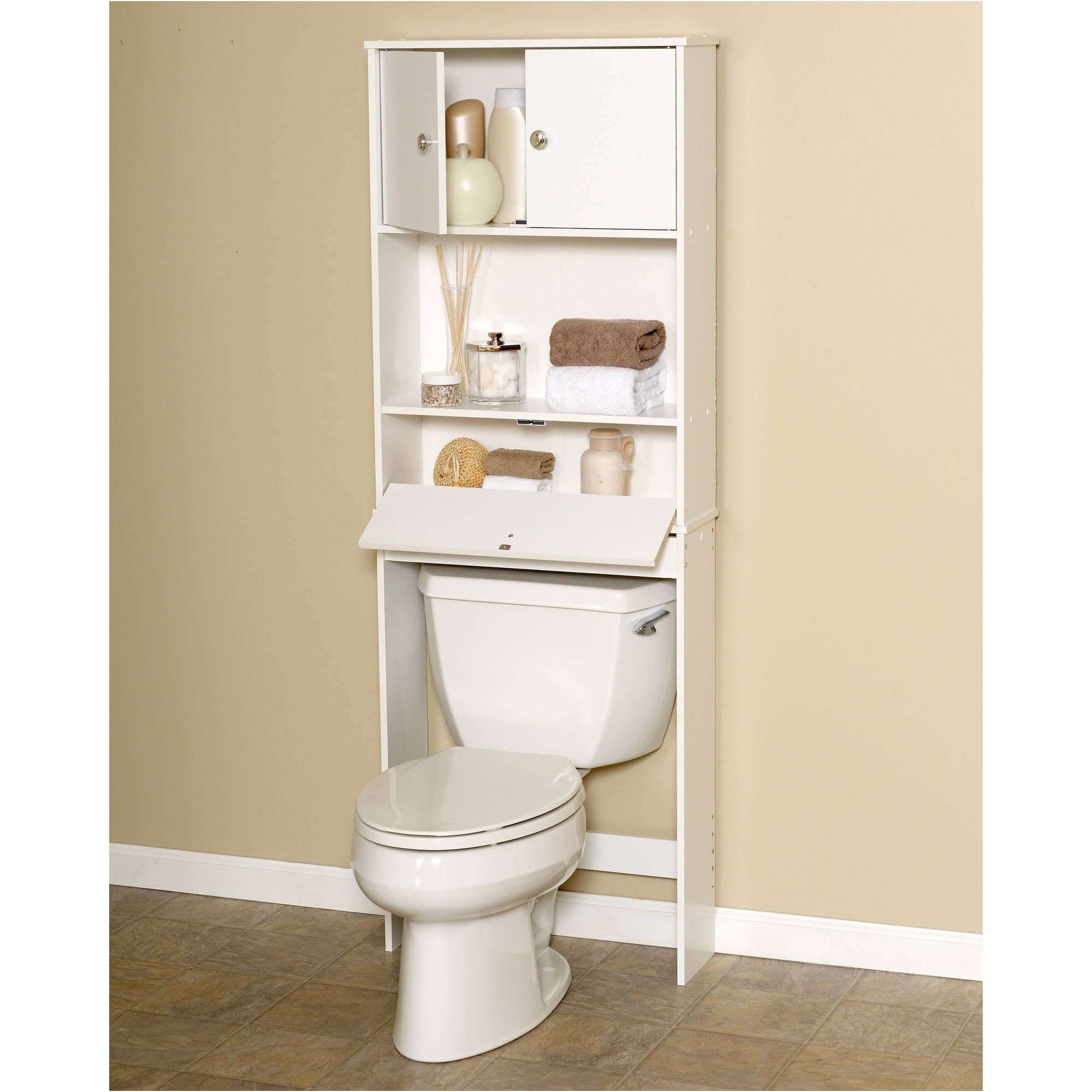 White Spacesaver with Cabinet and Drop Door Walmart from White Space ...