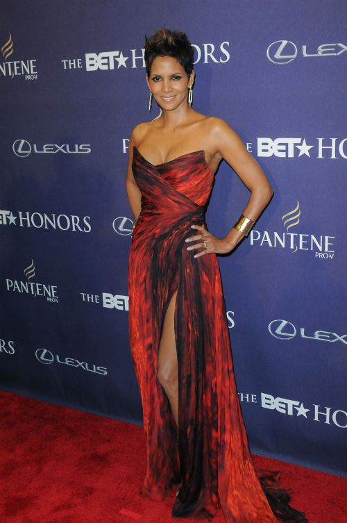 Actress Halle Berry received a 2013 BET Honors award for her community service.