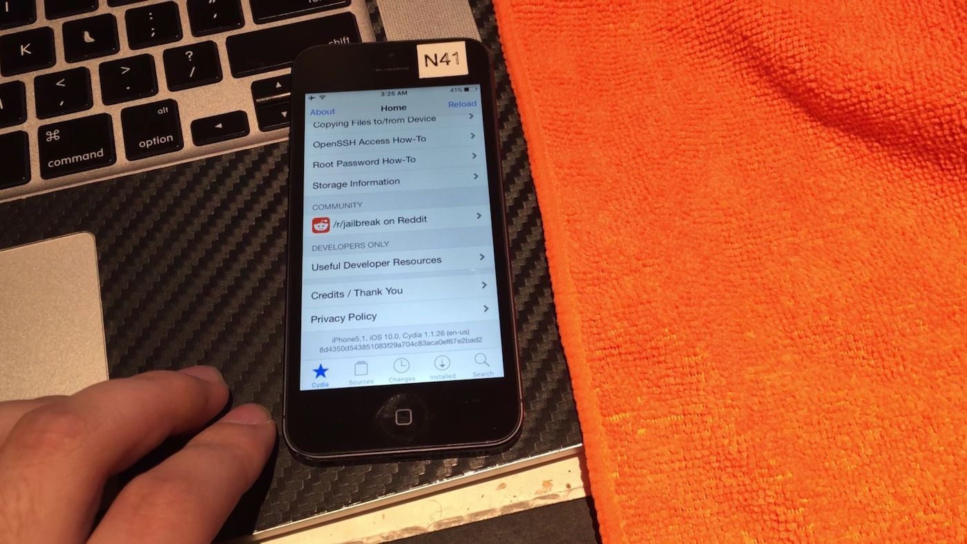 iOS 10 a déjà été jailbreaké !