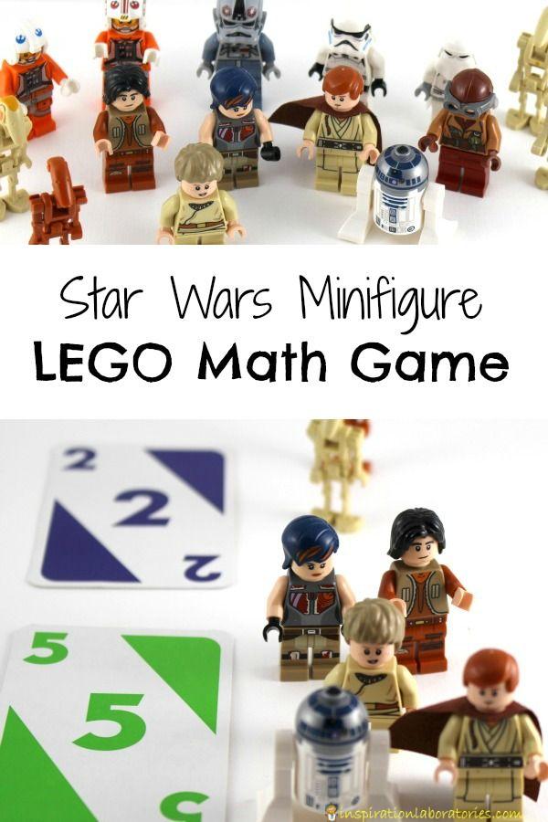 Star Wars Minifigure LEGO Math Game | Math, Lego and Star