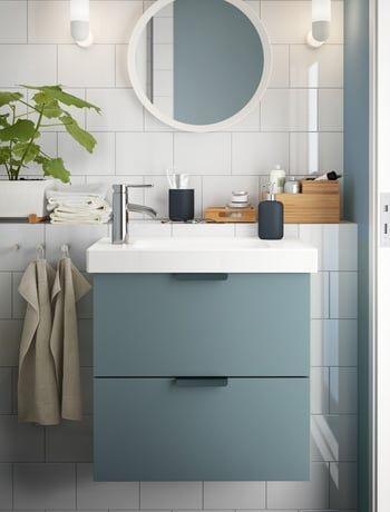Meuble lavabo Godmorgon   Odensvik par Magnus Elebäck pour IKEA - ikea meuble salle de bain godmorgon