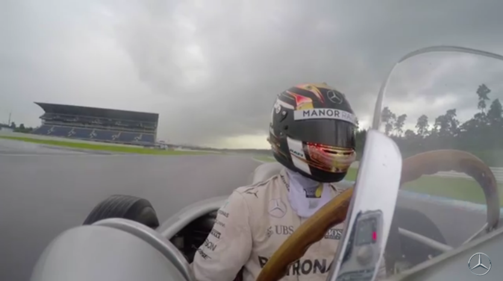Mercedes Amg Petronas F1 Onboard With Pascal Wehrlein And The W196r Video