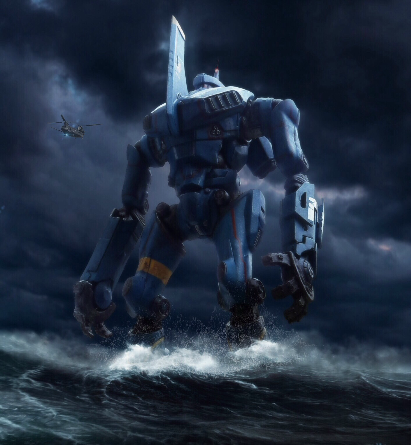 PACIFIC RIM MARK-1 JAEGER ROMEO BLUE by Pacific ... Pacific Rim Jaeger Romeo Blue