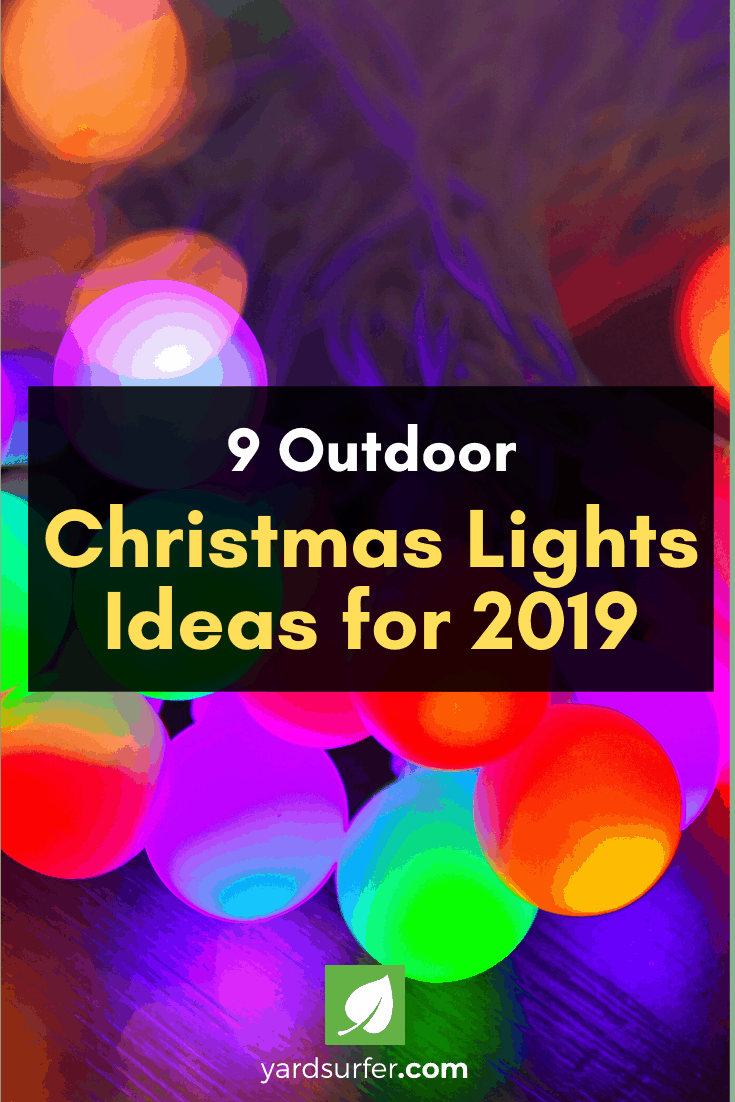 Outdoor Christmas lights ideas also provide the perfect opportunity for endless possibilities and inexpensive decorating.  #christmasseason #christmasdecor #christmasyard #yardsurfer #decoration #christmas #holidayinspo #holidays #christmasinspo #christmasfeels #christmashome #homedecor #homedesign