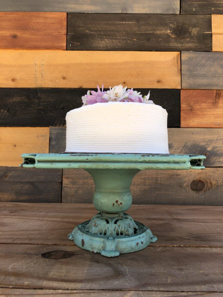 14 in pink ruffle cake stand faith and kay event