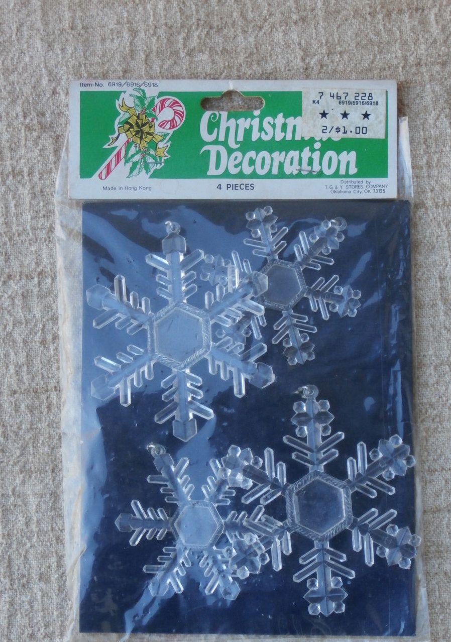 Vintage Christmas Ornaments Snowflake Ornaments Christmas Ornaments Vintage Snowflake Ornaments