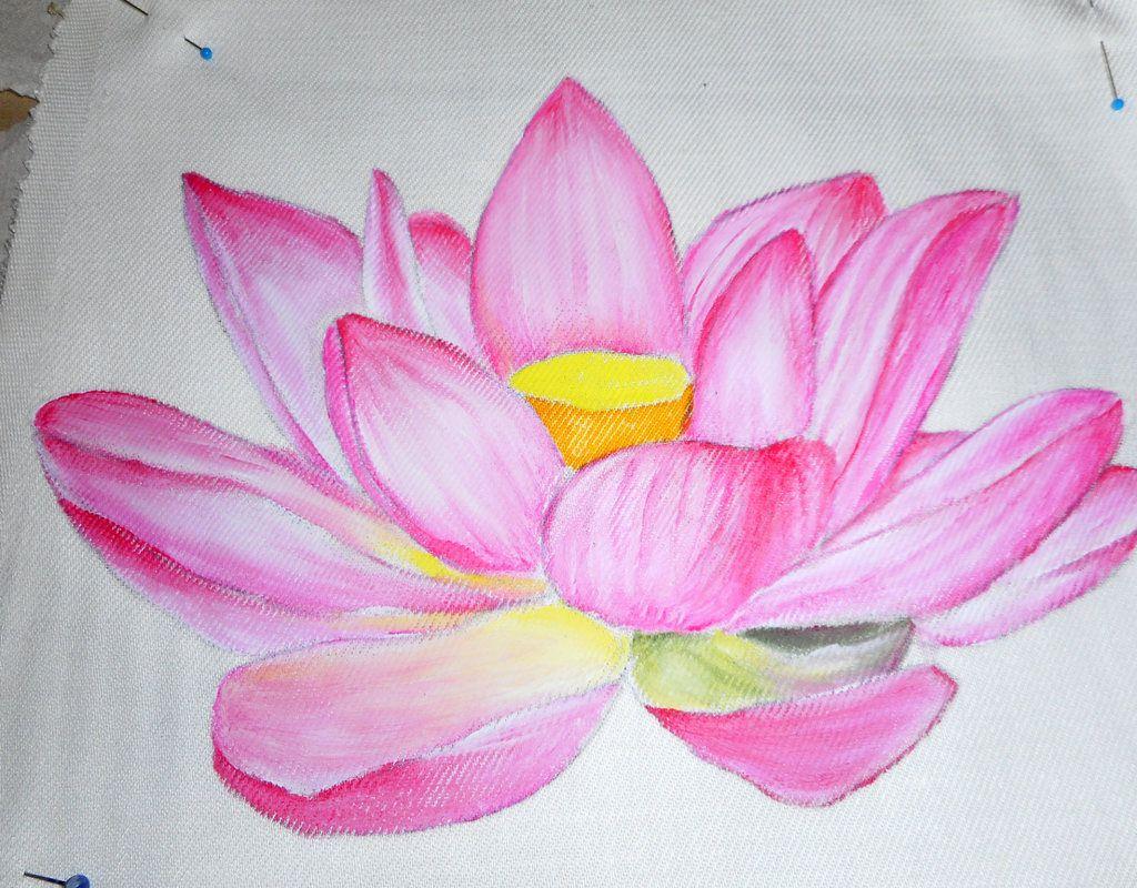 Tutorial Fiore Di Loto Da Dipingere Su Stoffa Lezione Pittura Su Stoffa Fiore Di Loto File Pdf Lezione Pit Dipingere Idee Dipingere Tessuto Pittura Su Stoffa