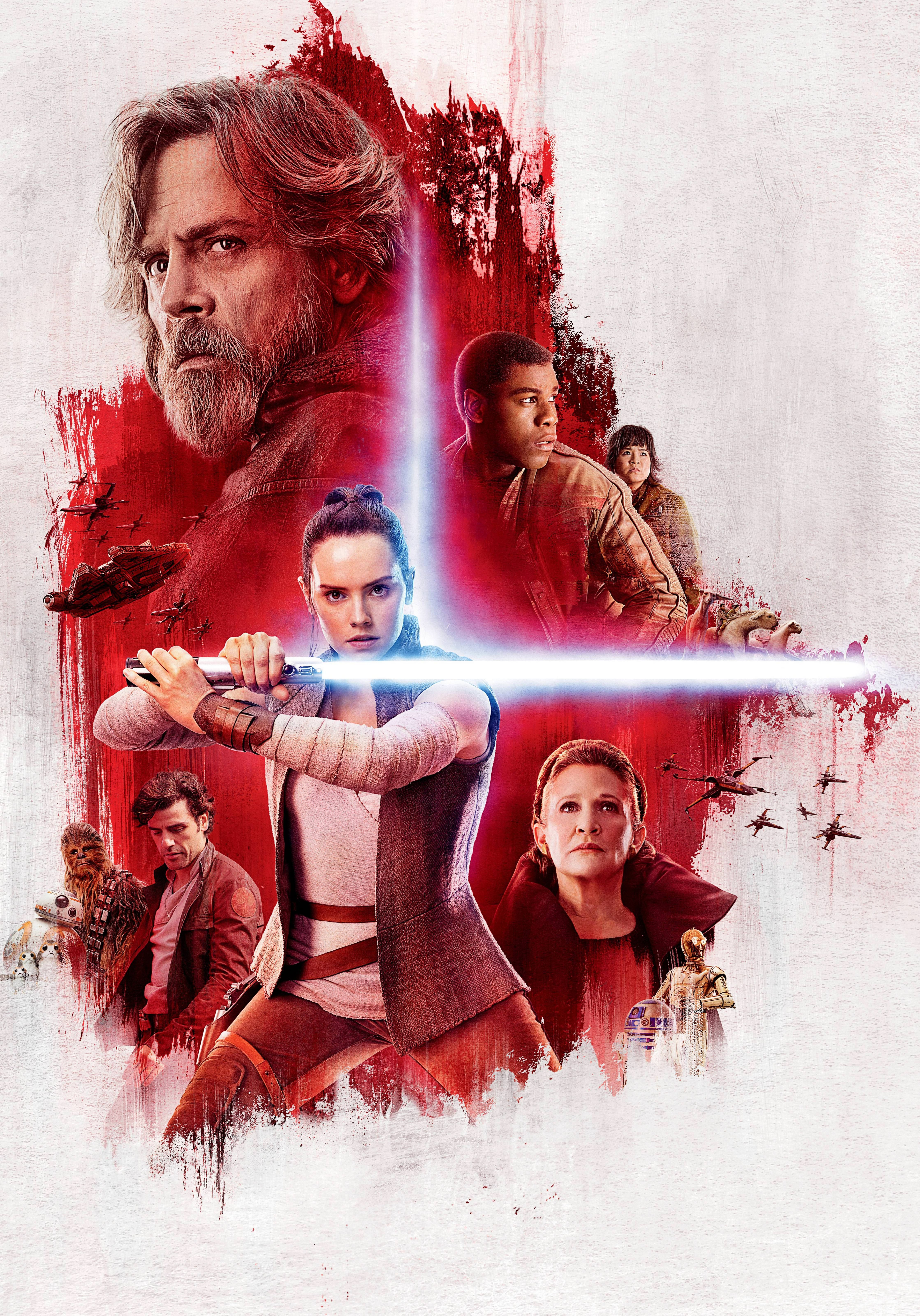 Hi Res Star Wars The Last Jedi The Light Side And The Dark Side