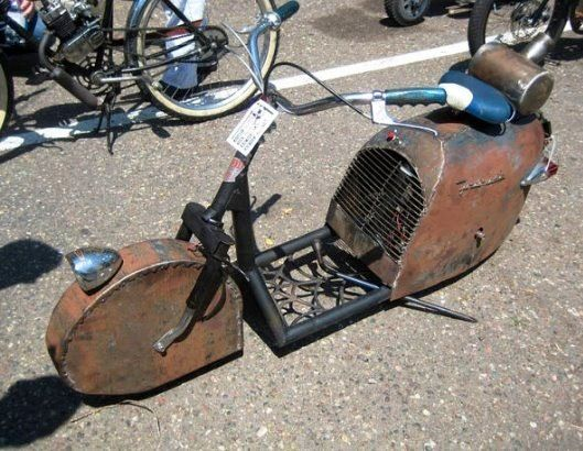 Rat Moped