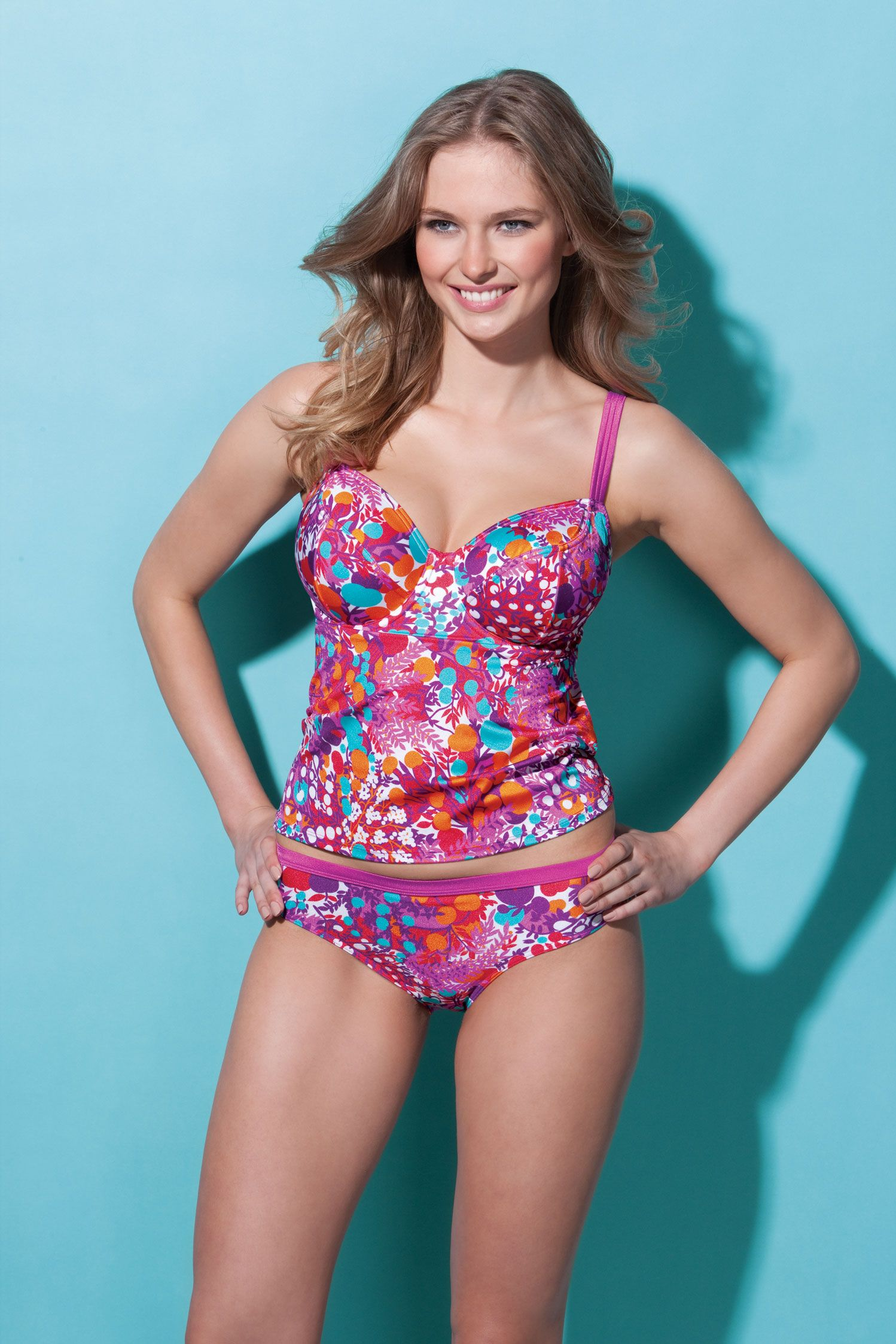 2b0ba04a4a Copacabana Tankini by Bravissimo in Tutti Frutti A new style from  Bravissimo Tankini top available in sizes 30-38 DD-K cup; £40.00 Matching  bottoms ...