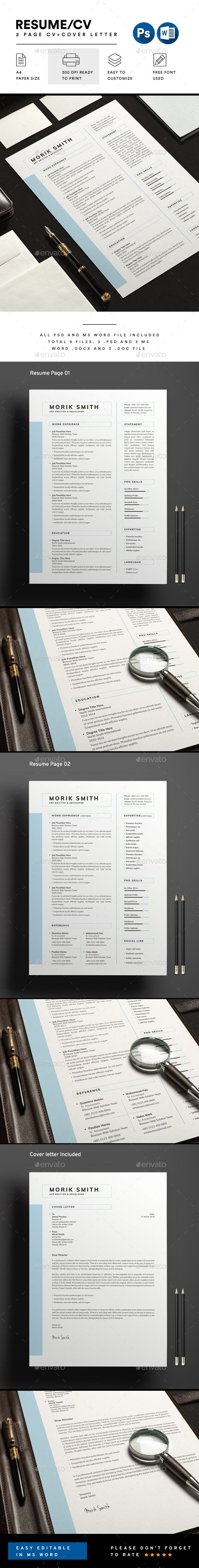 Resume Resume cv Template and