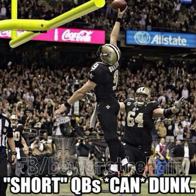 Brees Can Dunk Too Saints Memes New Orleans Saints Football New Orleans Saints