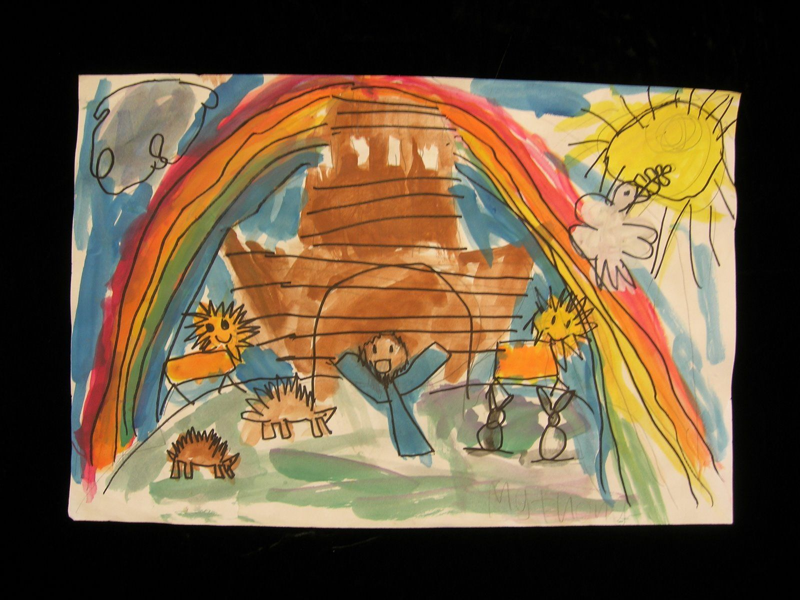 Teaching The Colors Of The Rainbow With Noah S Ark