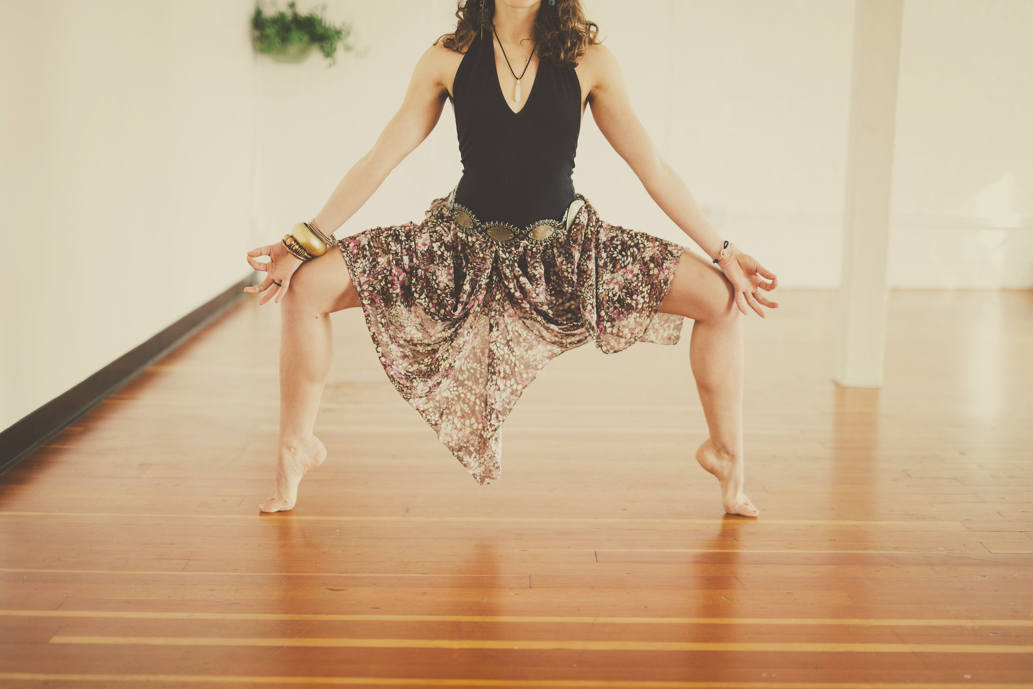 Don't let the skirt fool you!  We are powerful & beautiful! www.lovehiveyoga.com