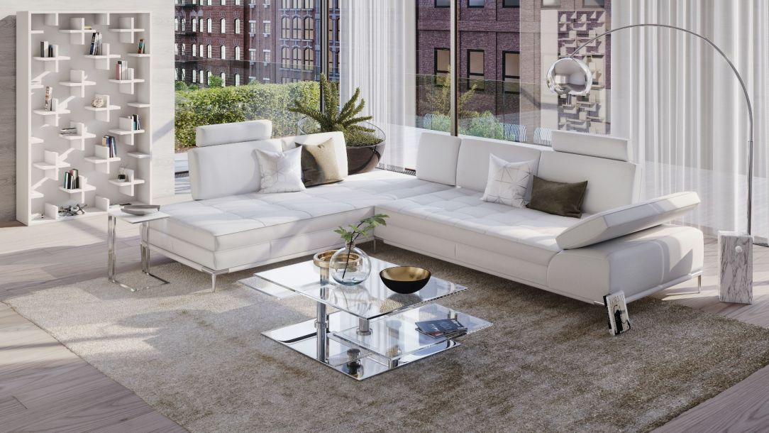 Empire White Sofa Right Small Sitting Rooms White Sofas Modern White Sofa