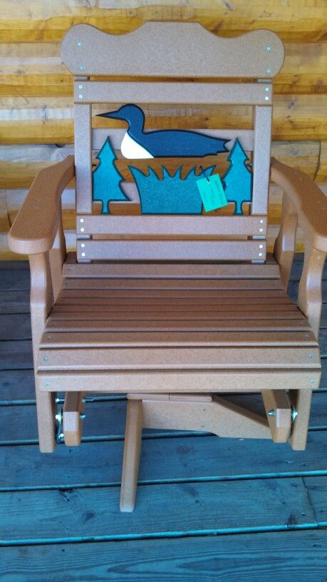 Outdoor Loon Poly Lumber Recycled, Cabin Outdoor Furniture