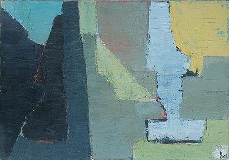 Nicolas De Stael Composition 1950 On Artstack Nicolas De Stael