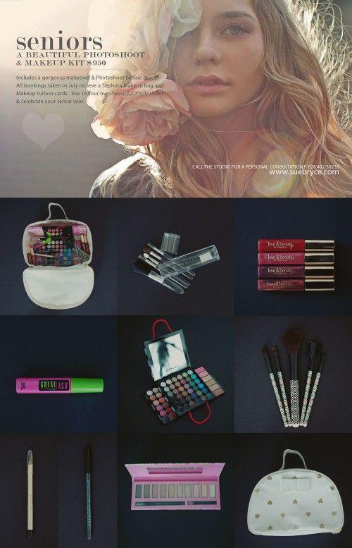 Sue Bryce Seniors Voucher For A Beautiful Photoshoot Makeup Kit
