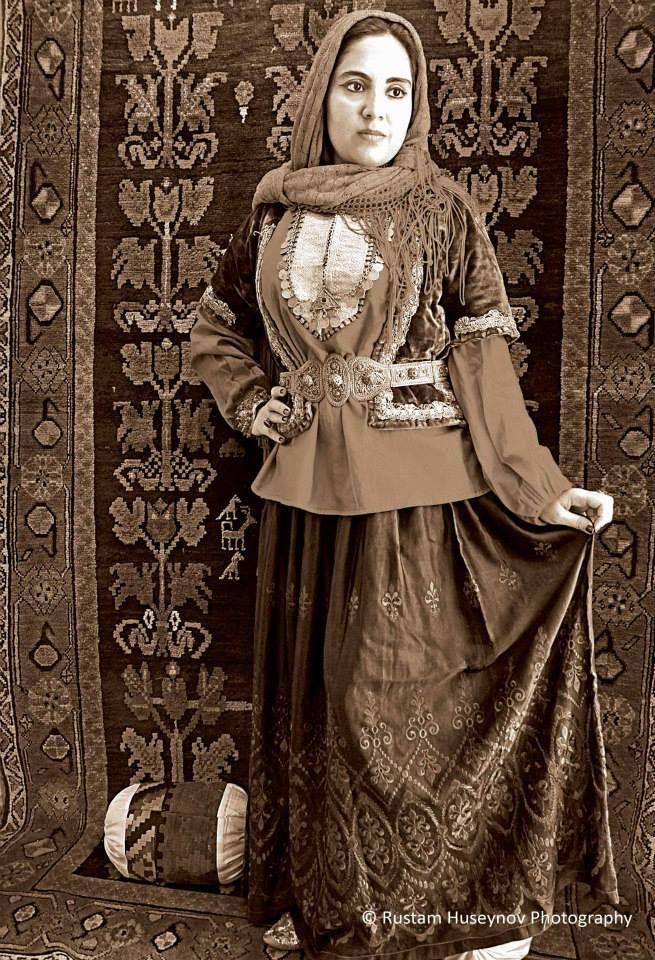 ♔ ☪ Azerbaijan national dress / folk costume