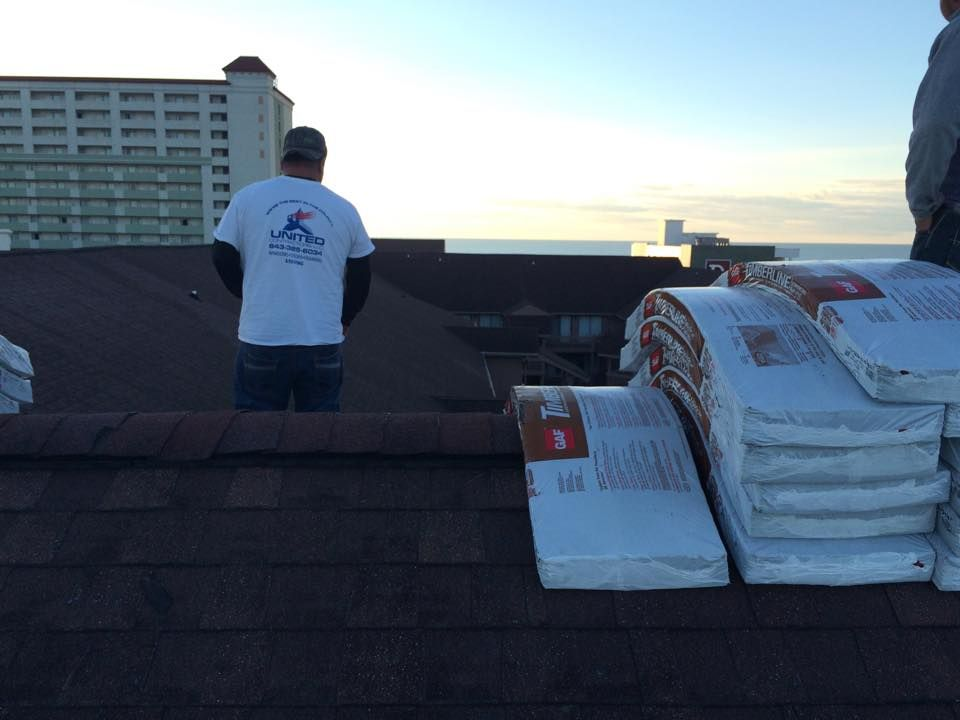 Commercial roofing services in Myrtle Beach SC. Surfside