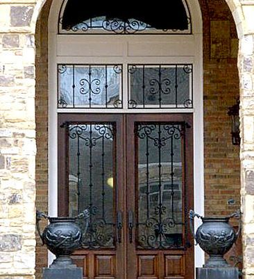 Dallas Millwork Custom Leaded Glass In Custom Wood Door Custom