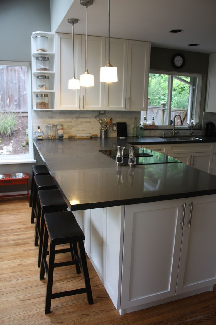 Image result for i want a countertop at the end of my kitchen wall ...