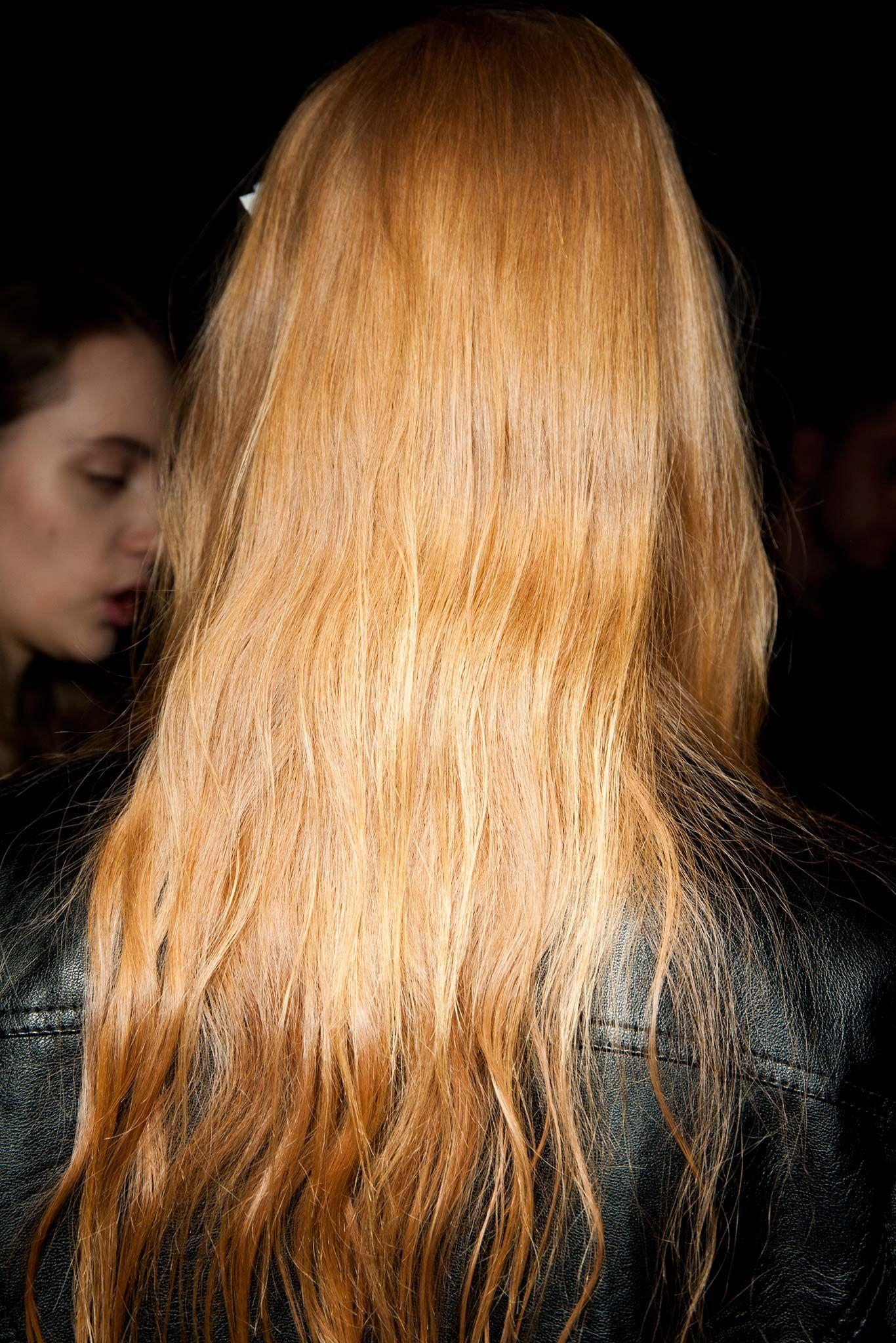 Gucci fall readytowear beauty gallery style hair