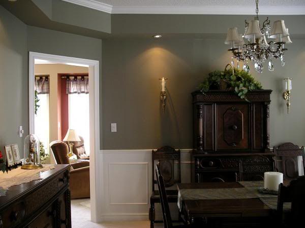 Bm Gettysburg Gray Grey Dining Room Dining Room Paint Colors