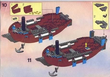 Image Result For Lego Pirate Ship Instructions Lego Instruction