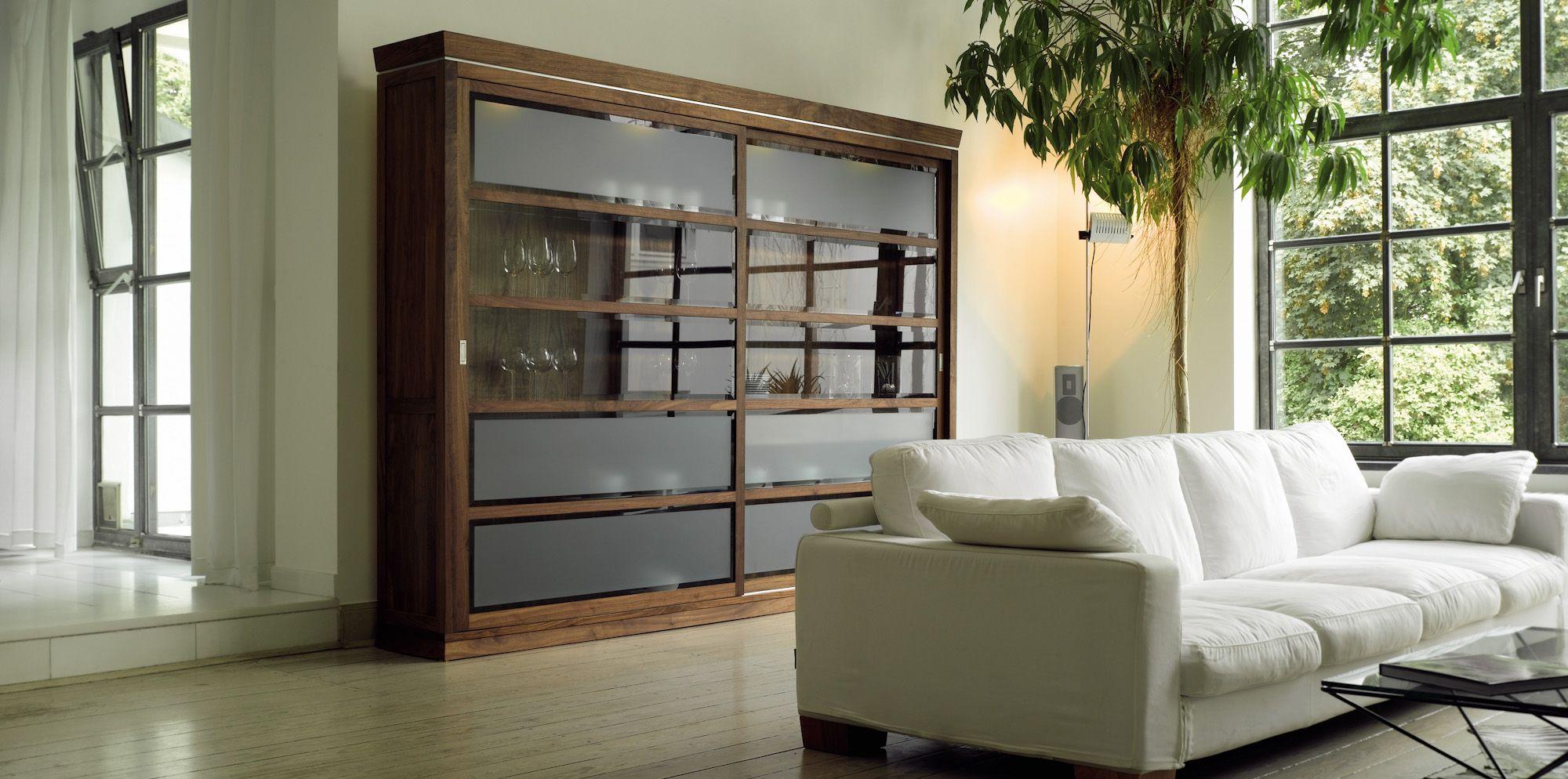 Vitrine Massivholz Glas Antike Optik Verschiedene Holzarten Und Maße Möglich Bei Möbel Morschett
