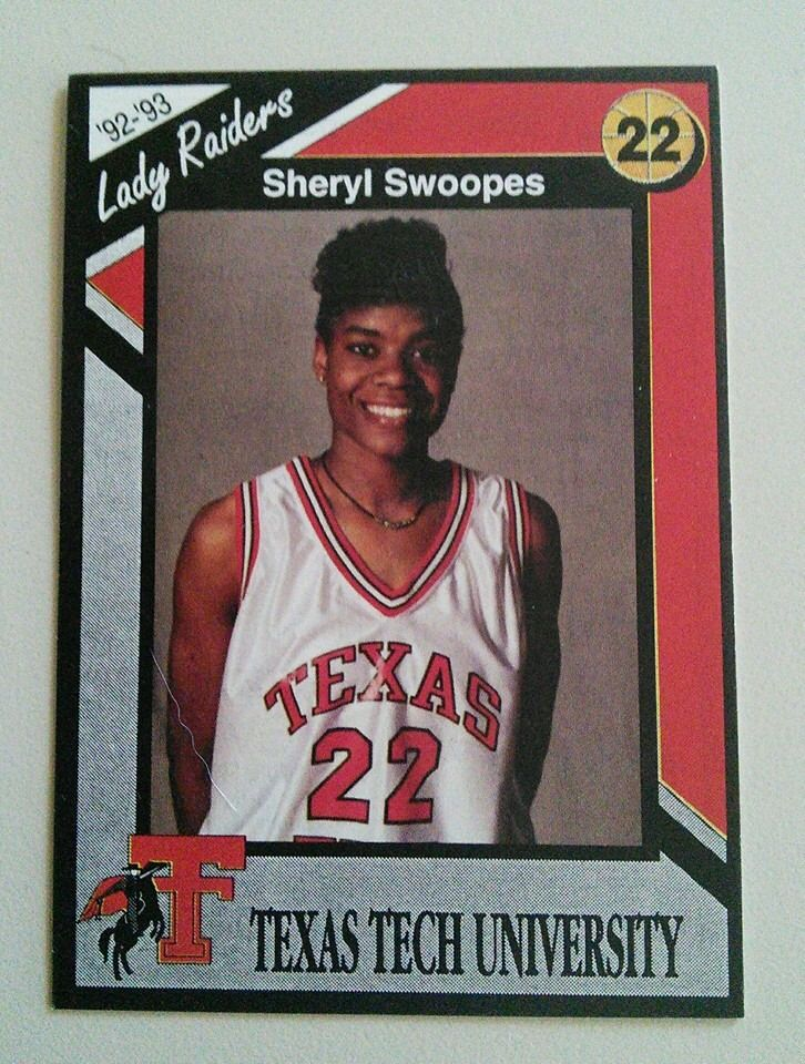 Sheryl Swoops Texas tech university, Texas tech, Texas