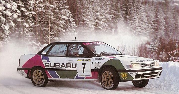 Subaru Legacy Rally Car Subaru S First Successful Car Thanks To A