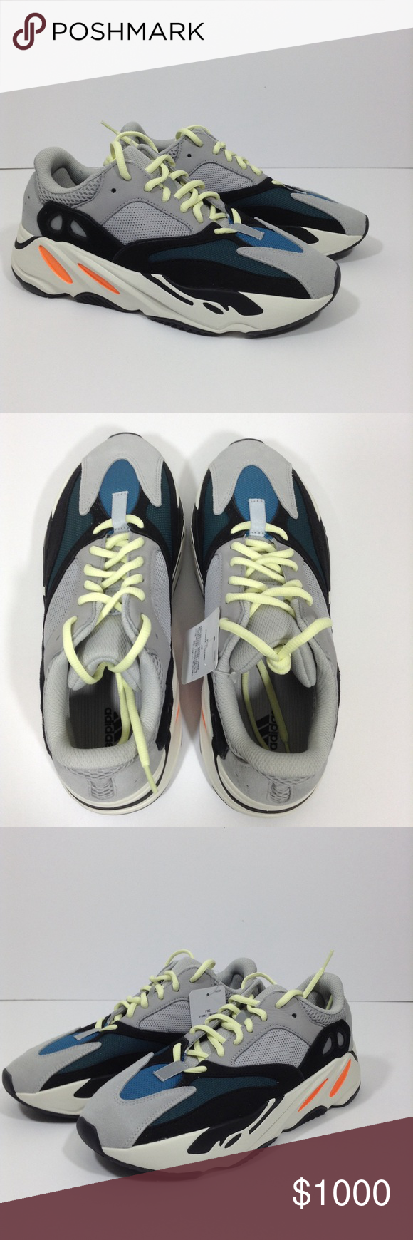 sports shoes e5251 50eb0 Adidas Boost Yeezy Wave Runner 700 Yeezy Supply New in Box ...