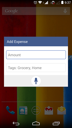fynse expense manager is a free application for android with no