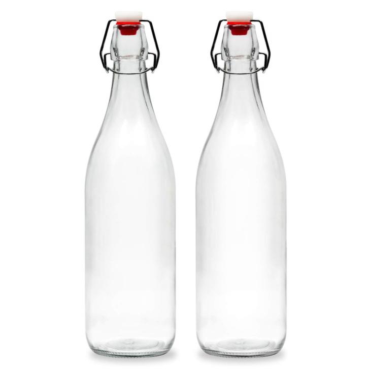 750ml Swing Top Water Bottle In 2021 Glass Bottles Wholesale Glass Bottles Swing Top Bottles