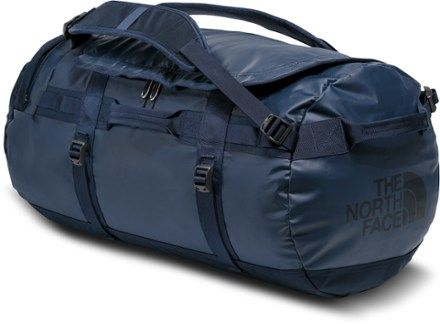The North Face Base Camp Duffel - Medium Red Sticker Bomb Decay/Black