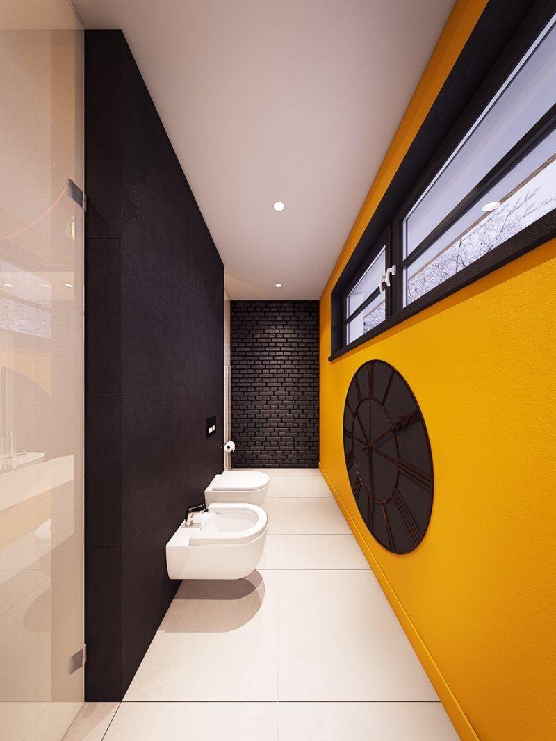 Décoration colorée –accrocheur dans une maison contemporaine | Coloree