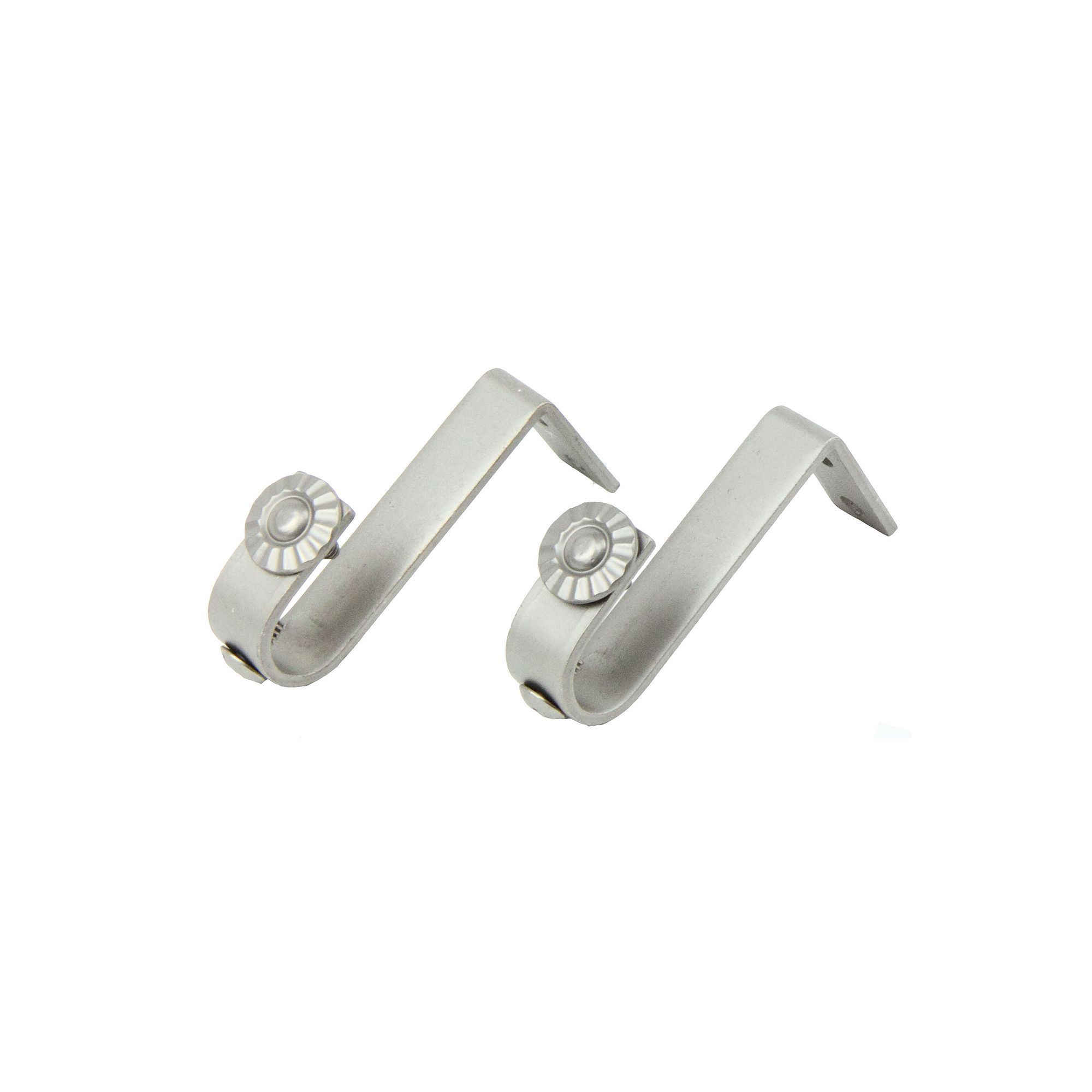 Ceiling Curtain Bracket Rod Desyne 2 Pk Ceiling Curtain Rod Brackets Products