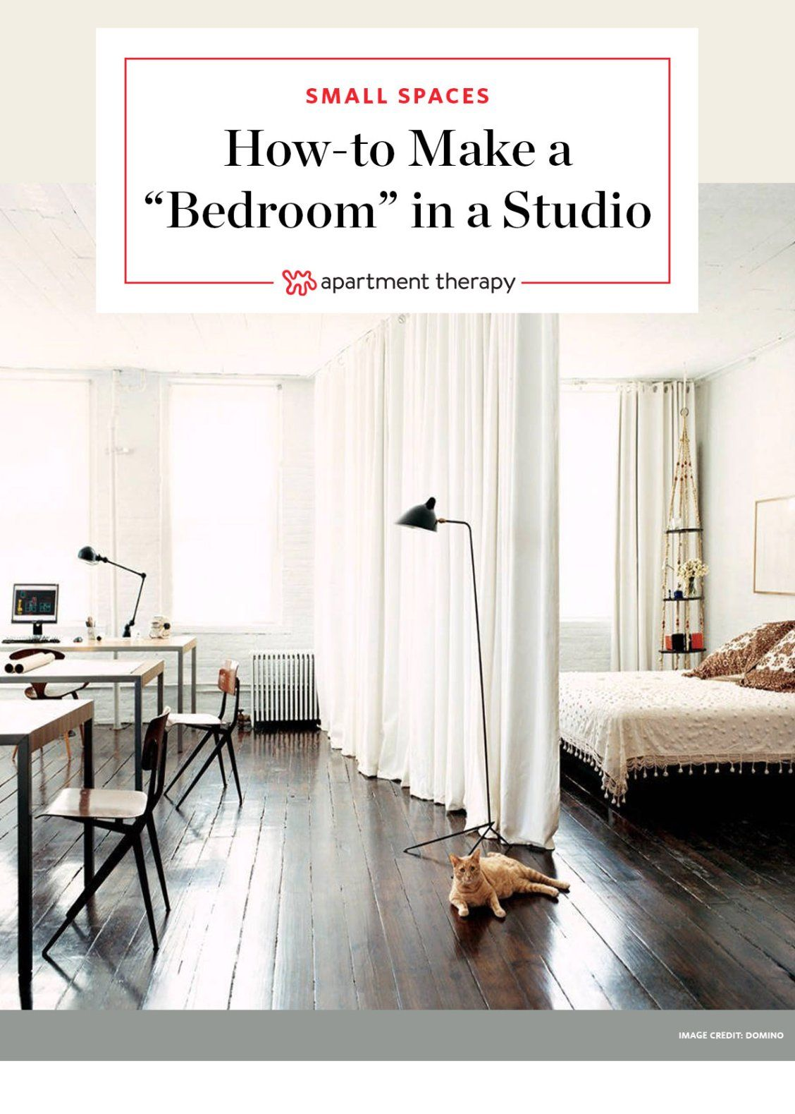 12 Ways To Create A Bedroom In Studio Apartment You Need Little Privacy For When Houseguests Stay Or Just Want Separation