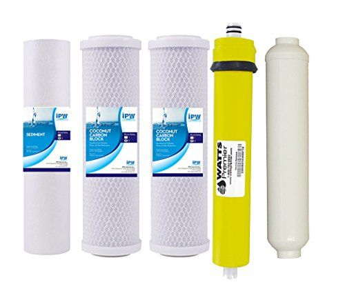 Watts Replacement Water Filters For Wp5 50 Reverse Osmosis System W 50 Gpd Membrane 560018 Water Filter Reverse Osmosis System Reverse Osmosis
