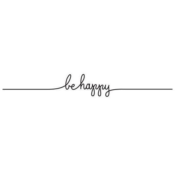Be Happy Tattoo (Pk2)