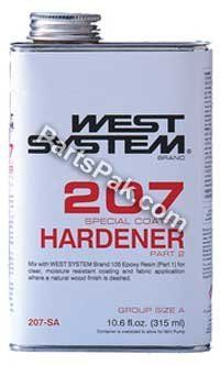 SPECIAL COATING HARDENER .66 Pint by WEST SYSTEM. SPECIAL COATING HARDENER .66 Pint. Blank Ski.