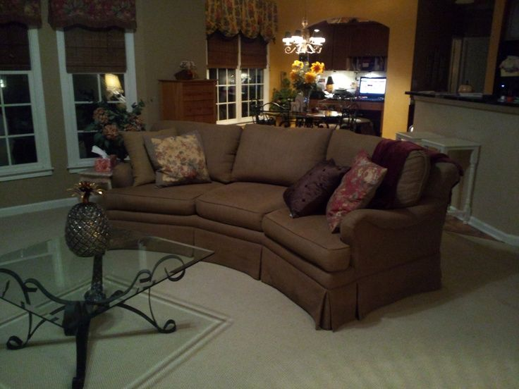 Conversation Couch | Conversation Sofa Purchased On Craigslist For $300 Or  ... | House