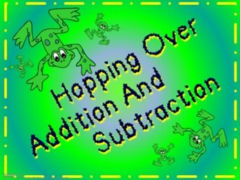 Hopping Over Addition and Subtraction - Electronic ...