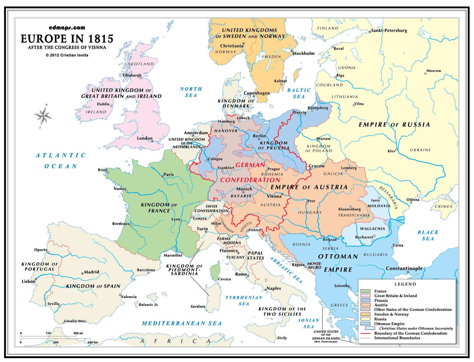 Westphalia germany in 1830 google search geneaolgy pinterest map of europe 1648 after the treaty of westphalia gumiabroncs Image collections