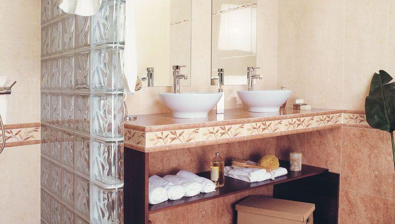 Dise o de cuarto de ba o con muestras de diferentes for Diseno de habitacion con bano y cocina